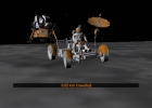 The lunar rover of X-Plane Apollo