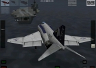 The F-4 Phantom II landing on a carrier in X-Plane for iPad