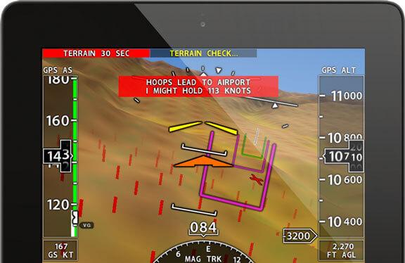 The Xavion app - real world avionics on your iPad or iPhone!
