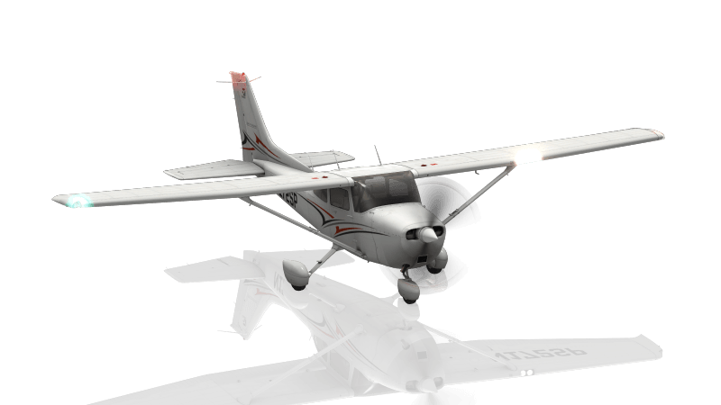 The Cessna 172 in X-Plane 11