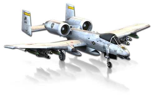 The A-10 Warthog in X-Plane 10 Mobile