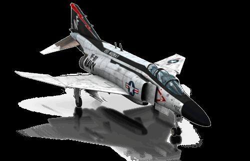 The F-4 Phantom II in X-Plane 10 Mobile for iPhone & iPad