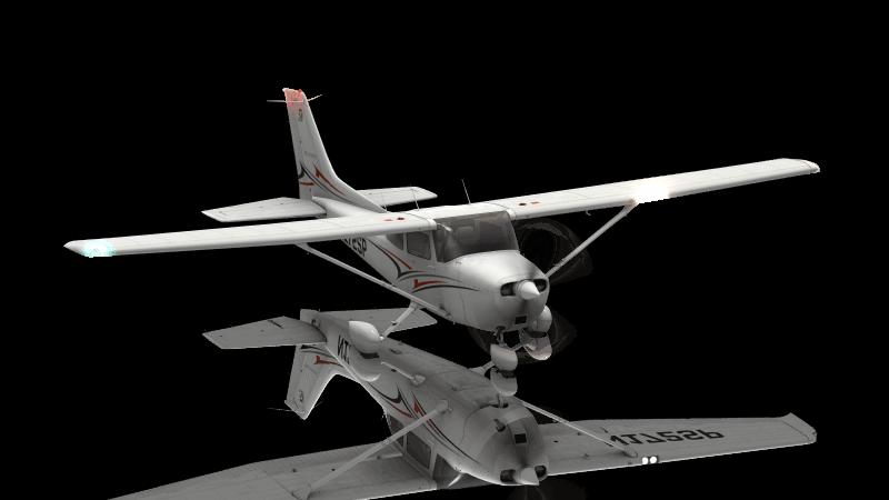 The Cessna 172 in X-Plane 11