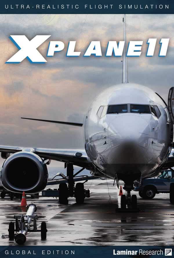 X-Plane 11 DVD cover